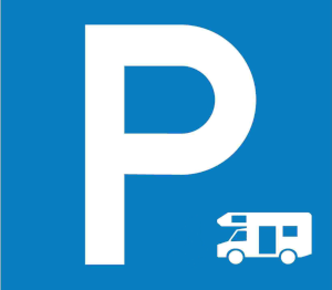 Aviso parking Parque Natural Izki